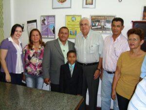 Luciano Barreto acompanha de perto as Ações de Responsabilidade Social da Celi