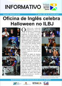 Oficina de Inglês celebra Halloween no ILBJ