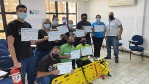 Equipe ILBJ participa de curso de brigadadista